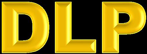 Nuevo Logo DLP grande Oro Viejo TRANSPARENTE